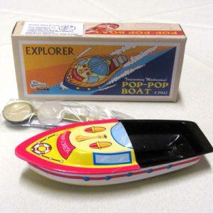 Boat:  Explorer Pop Pop Boat