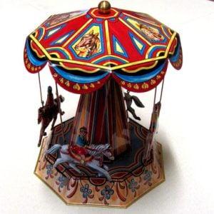 Carousel:  Antique Horses