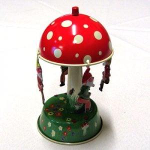 Carousel:  Mushroom, small