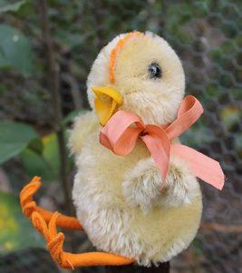 Steiff Chick Chicken 14cm – vintage