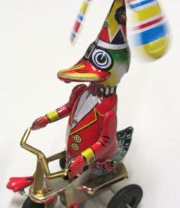 Duck Riding Tricycle - Happy Wanderer, 20cm