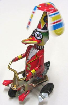 Duck Riding Tricycle – Happy Wanderer, 20cm