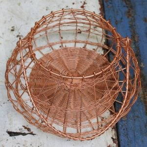 Basket – Round Copper