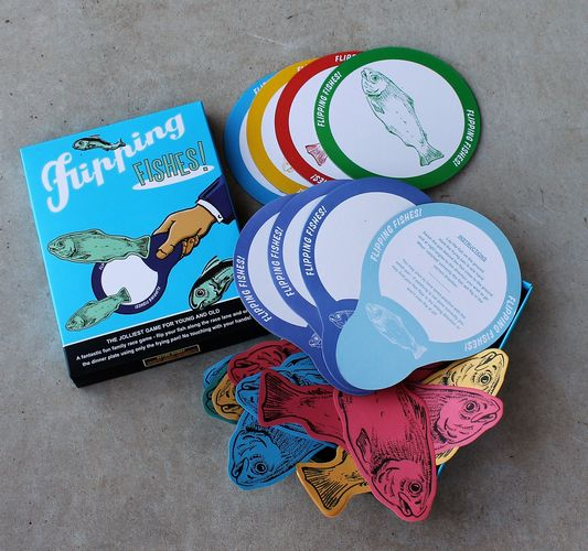 morpeth gift gallery flipping fishes retro game family fun