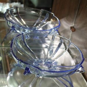 Depression Glass Bowl – Blue