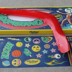 Ridley's Boomerang
