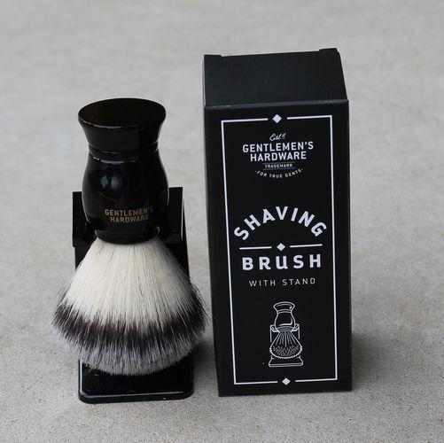 Shaving Brush with Stand - Gentlemen's Hardware