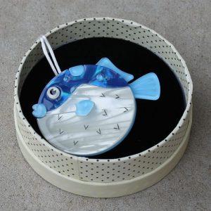 Erstwilder Brooch – 'Fun Loving Fugu'