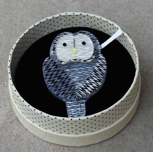 Erstwilder Brooch - 'Call of the Ural' Owl