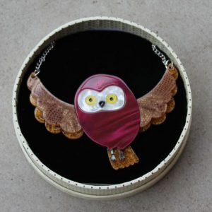 Erstwilder Necklace – Spark the Owl