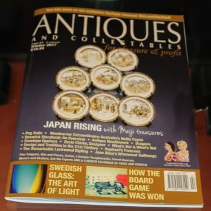 Antiques and Collectables for Pleasure and Profit Magazine – Winter 2017
