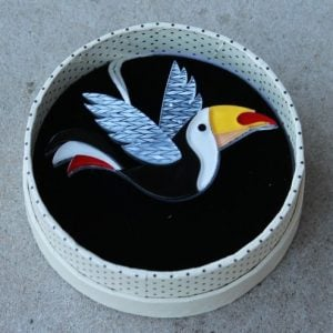 Erstwilder Brooch – Conrad Cool Beak (Toucan)