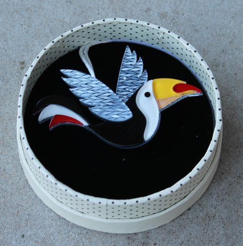 Erstwilder Brooch - Conrad Cool Beak (Toucan)