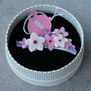 Erstwilder Brooch – Cheery Cherry Blossom