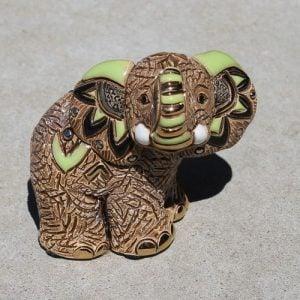 Rinconada - Elephant Baby Samburu Green F374G
