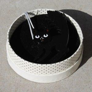 Erstwilder Brooch – Catastrophic Fright (Cat)
