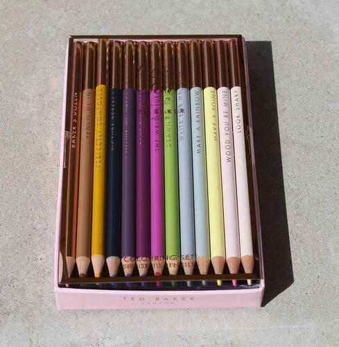 Ted Baker - Coloured Pencil 'Baker's Dozen' Set