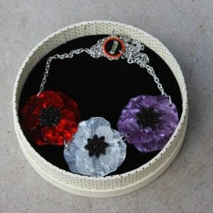 Erstwilder Necklace – Poppy Field Tri Colour
