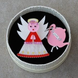 Erstwilder Brooch – Nanna's Little Angel