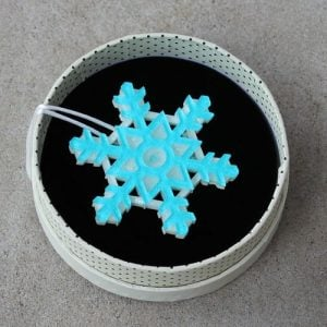Erstwilder Brooch – Seasonal Symmetry (Snowflake)