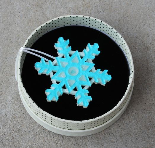 Erstwilder Brooch - Seasonal Symmetry (Snowflake)