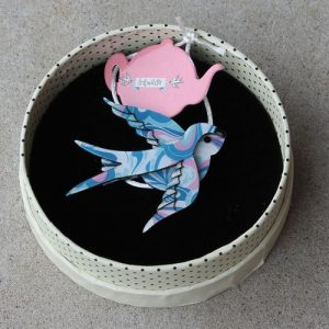 Erstwilder Brooch - Bluebird of Happiness