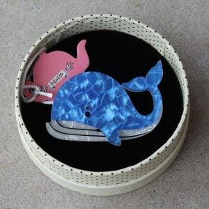 Erstwilder Brooch - Wesley Whale