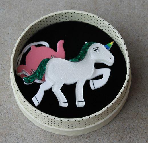 Erstwilder Brooch - Ula Unicorn