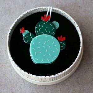 Erstwilder Brooch – Cuddly Cactus