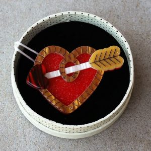 Erstwilder Brooch – A Shot Through the Heart