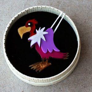 Erstwilder Brooch – Scavenger Type (Vulture)