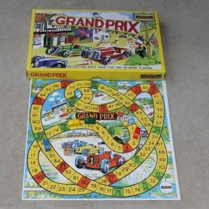 Grand Prix Retro Board Game