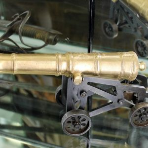Replica Scale Model of George II Endeavour Gun