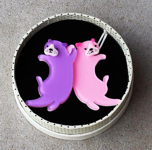 Erstwilder Brooch - Eric's Otters