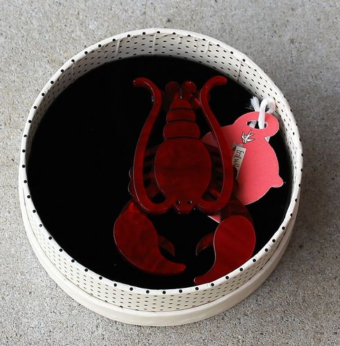 Erstwilder Brooch - Not A Rock (Lobster)