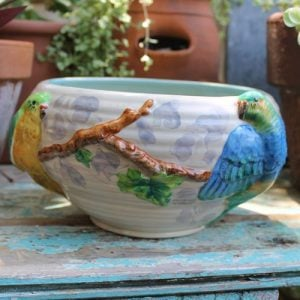 Clarice Cliff Parrot Bowl