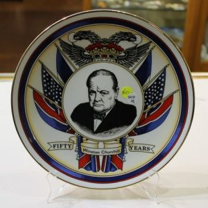Winston Churchill Plate