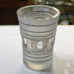 Lalique 'Cherub' Vase