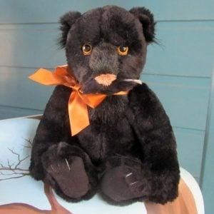 Java – black panther