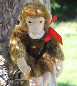 Steiff Jocko Chimpanzee Monkey 25cm – vintage