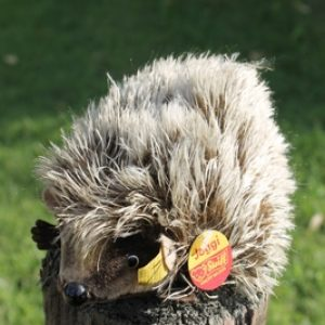 Steiff Joggi Hedgehog 17cm – vintage