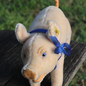 Steiff Jolanthe Pig – 17cm vintage