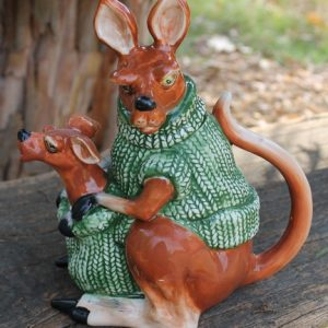 Kangaroo Wearing Jumper Teapot