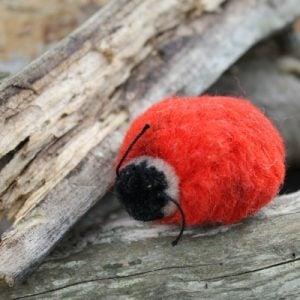 Steiff Lady Bird Woollen 4cm – vintage