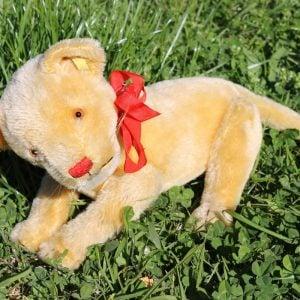 Steiff Lioness Mama – vintage 21cm