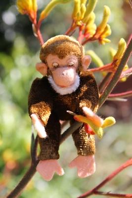 Vintage Monkey 10cm $50