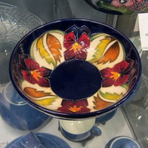 Moorcroft – 'The Dames' Pansy Dish