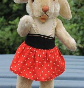 Steiff Nikili Rabbit Girl – 36cm Vintage