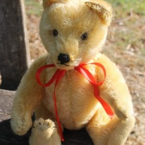 Steiff Original Teddy blonde 28cm - vintage