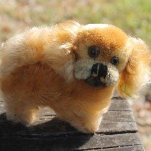 Steiff Peky Pekinese Dog 8cm – vintage